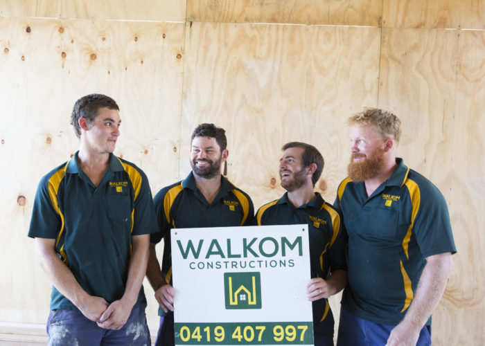 Walkom Constructions Team