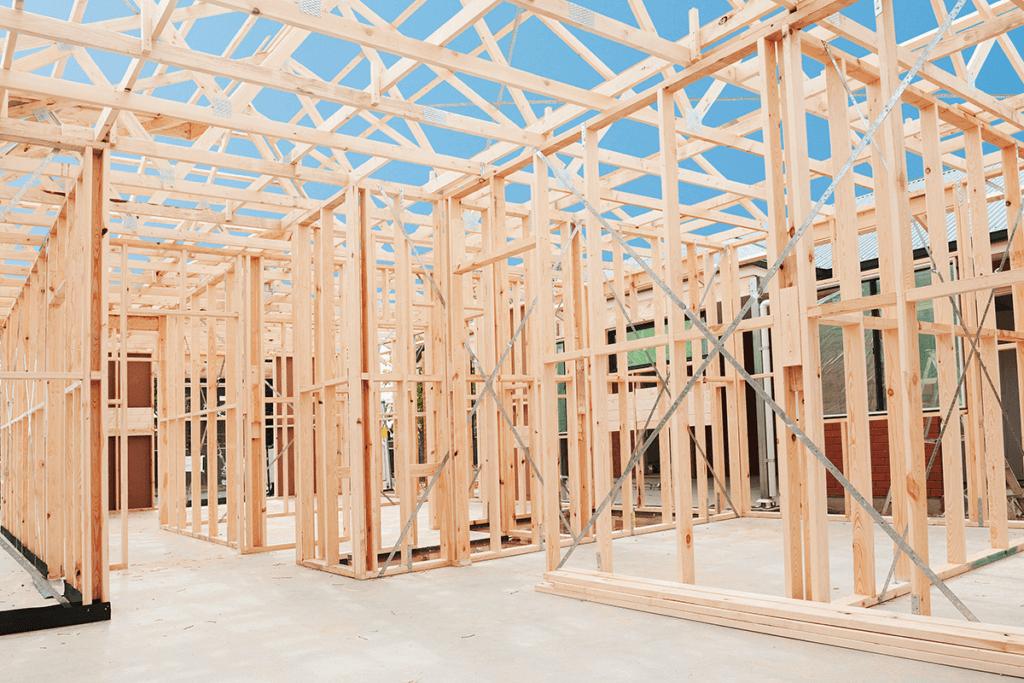 Knock down rebuild framing