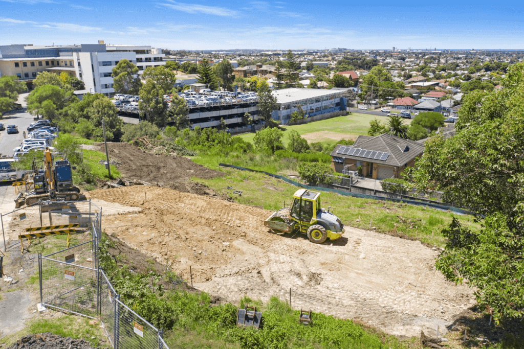 Knock down rebuild site level